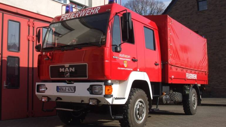 Dekontaminationslastkraftwagen