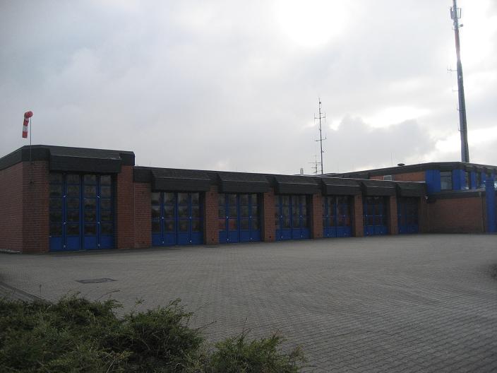 Fahrzeughalle LZ Kerpen/ hauptamtliche Wache