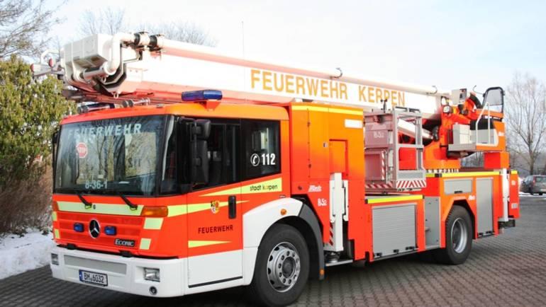 10.06.2014 – Zuerst der Sturm – dann das Feuer – erneuter Brand in der Maastrichter Straße