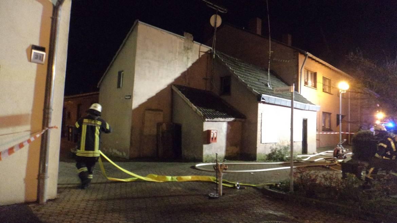 01.01.2016 – Brand in leerstehendem Haus