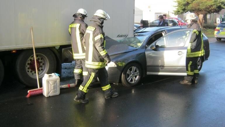 25.01.2016 – Verkehrsunfall mit einer verletzten Person