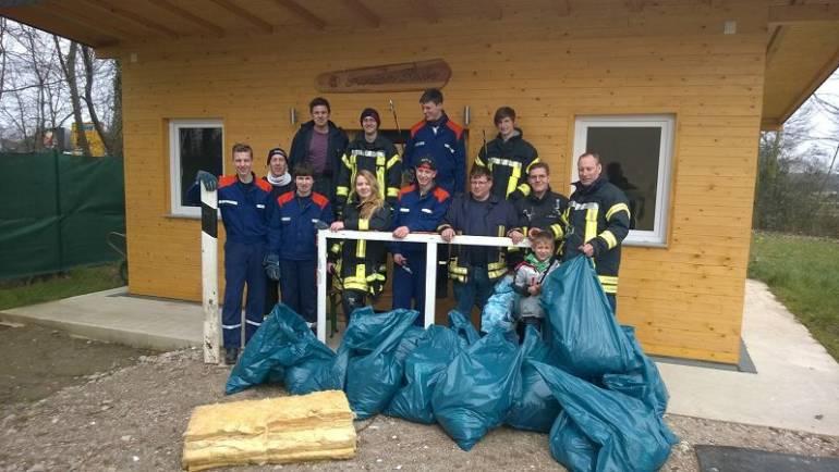 12.03.2016 – Löschzug Kerpen sammelte Abfälle