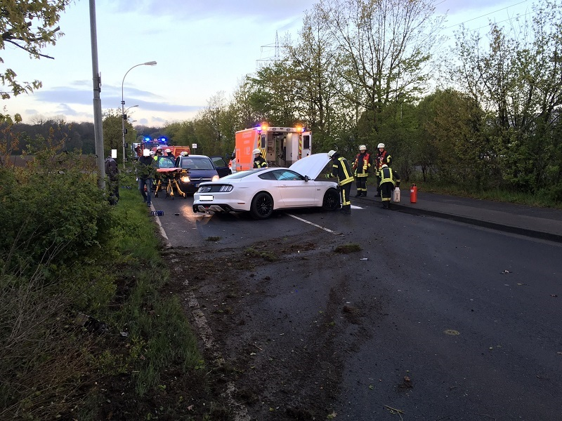26.04.2016 – Verkehrsunfall in Sindorf – eine verletzte Person