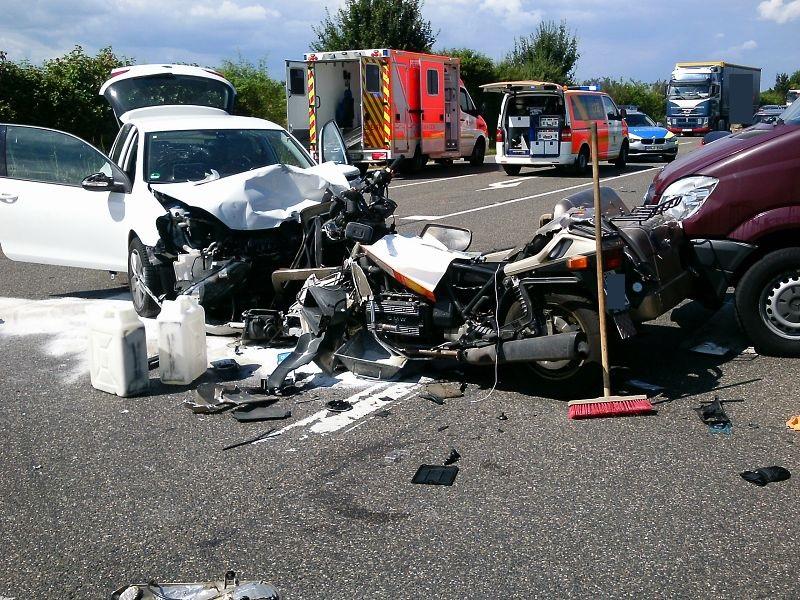 12.07.2016 – Tödlicher Verkehrsunfall auf der B264n