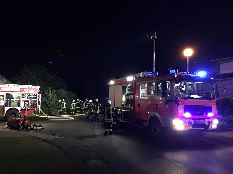 07.08.2016 – Zimmerbrand in Buir – eine leichtverletzte Person