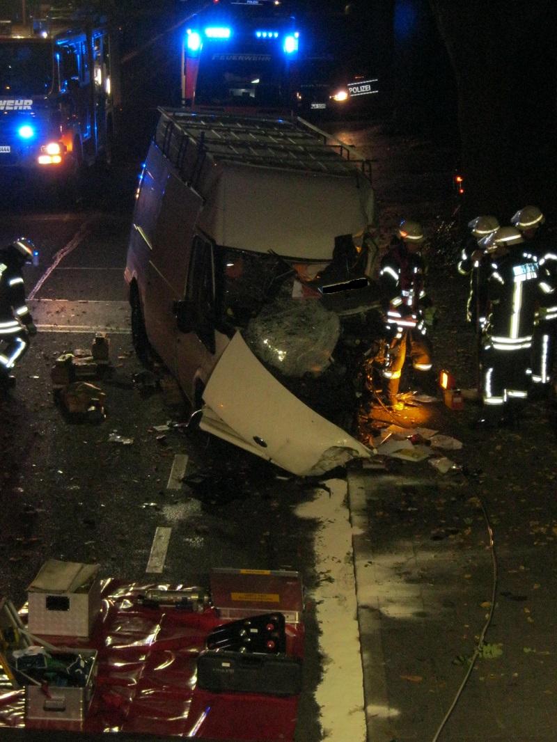 Verkehrsunfall in Blatzheim – ein Schwerverletzter