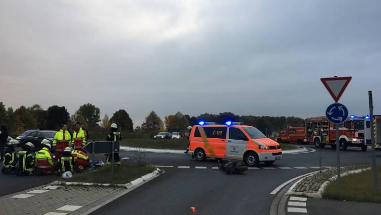 28.10.2016 – Verkehrsunfall in Bergerhausen