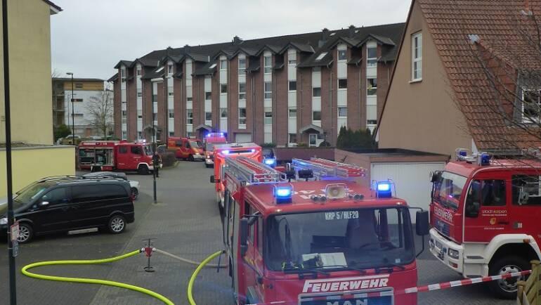 25.12.2016 – Zimmerbrand in Kerpen-Sindorf