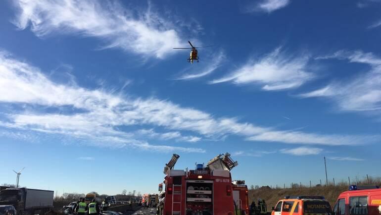 20.01.2017 – Schwerer Verkehrsunfall auf der BAB 4