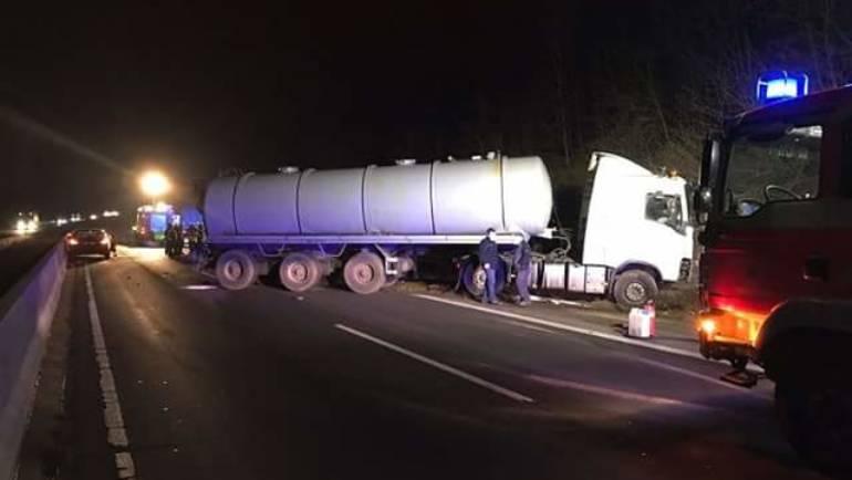 31.01.2017 – Verkehrsunfall auf der BAB 61 mit einer Vollsperrung