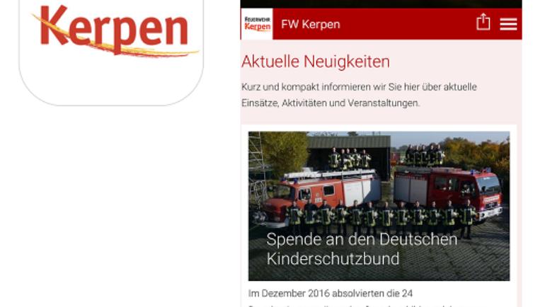 17.02.2017 – App der Feuerwehr Kerpen