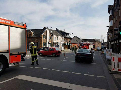 24.03.2017 – Drei Verkehrsunfälle für die Feuerwehr Kerpen