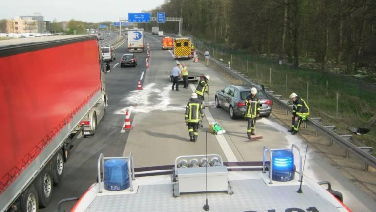 31.03.2017 – Verkehrsunfall auf der Autobahn 4