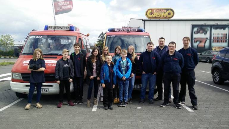 24.04.2017 – Bowling der Jugendfeuerwehren Buir und Manheim