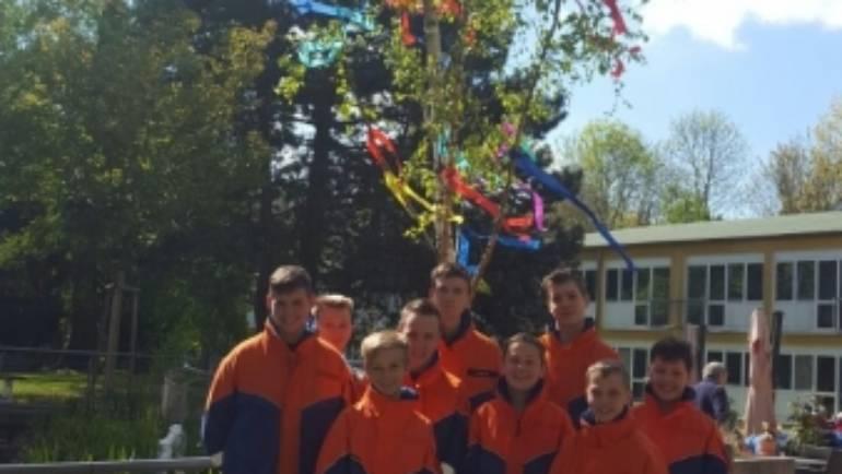 29.04.2017 – Maibaumaktion der Jugendfeuerwehr Türnich/Balkhausen