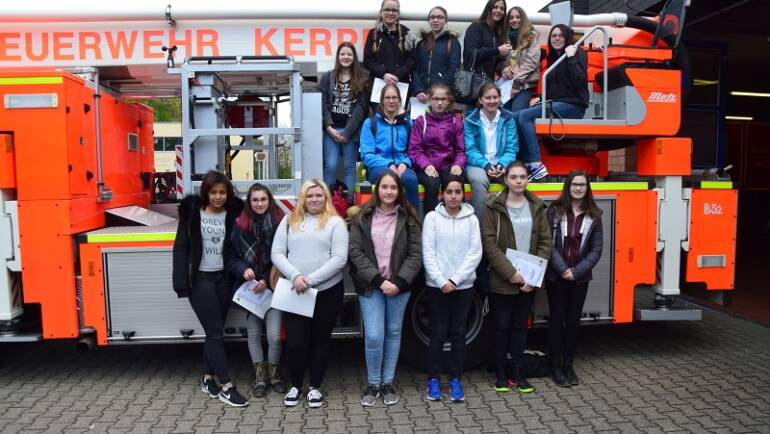 27.04.2017 – Girls-Day bei der Feuerwehr Kerpen