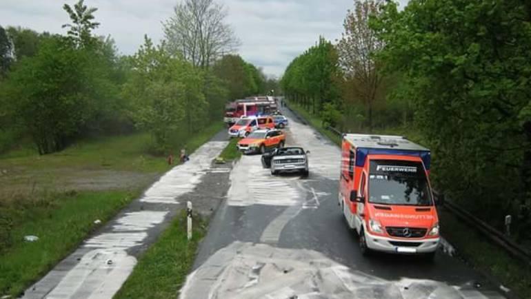 01.05.2017 – Schwerer Verkehrsunfall in Horrem fordert einen Toten