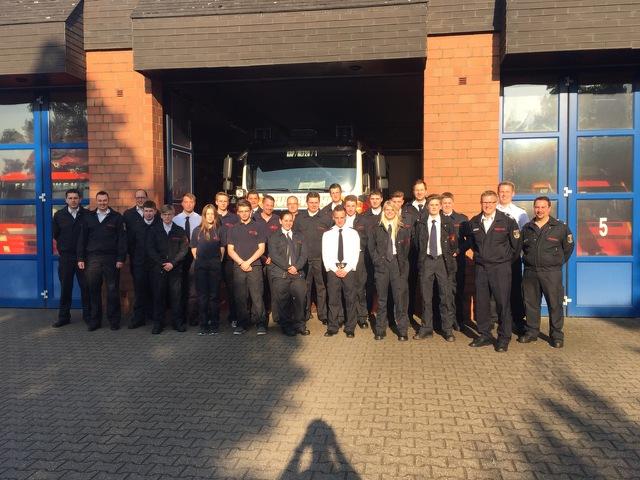 10.05.2017 – Start der Truppmannausbildung in der Freiwilligen Feuerwehr
