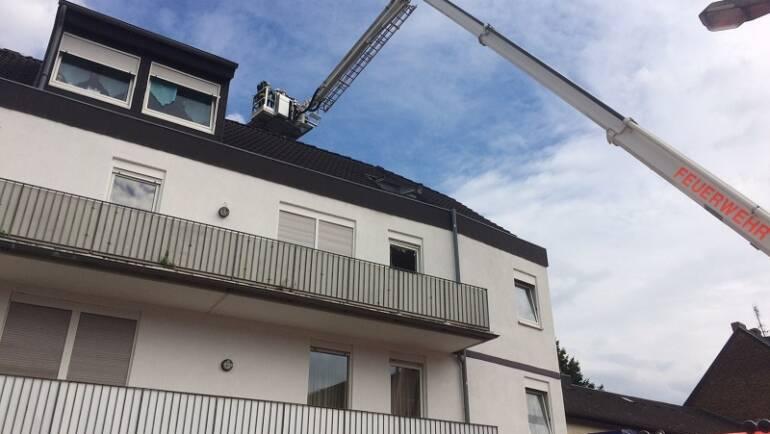 04.07.2017 – Zimmerbrand in Horrem