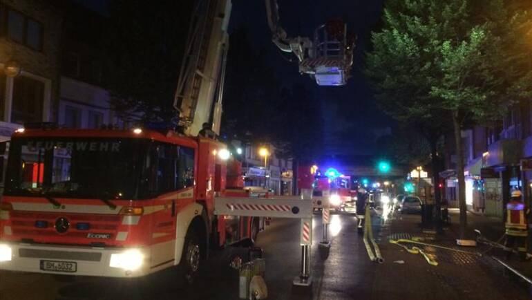 13.07.2017 – Sechs Personen bei Zimmerbrand gerettet
