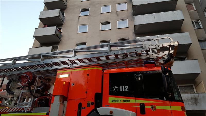 24.07.2017 – Zimmerbrand in Kerpen