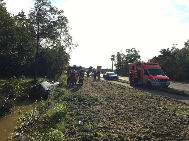 23.08.2017 – Verkehrsunfall auf der L496