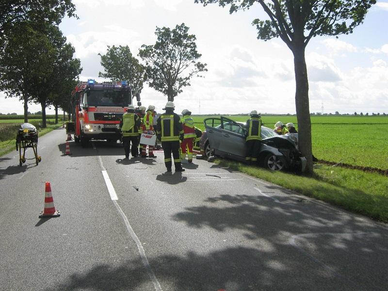 11.09.2017 – Verkehrsunfall mit einer verletzten Person