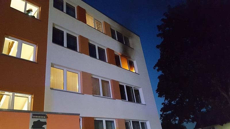 12.09.2017 – Zimmerbrand in Kerpen mit zwei verletzten Personen