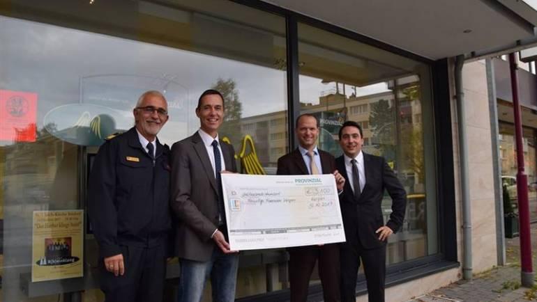 11.10.2017 – Spende der Provinzial-Versicherung AG an die Feuerwehr Kerpen