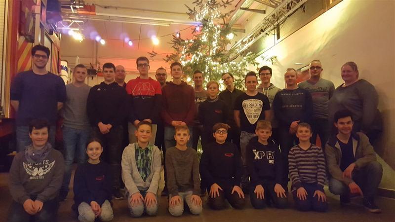 19.12.2017 – Jahresabschluss der Jugendfeuerwehr Türnich / Balkhausen