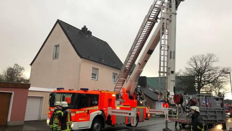 08.12.2017 – Brand in Neu-Bottenbroich – Wohnung derzeit unbewohnbar
