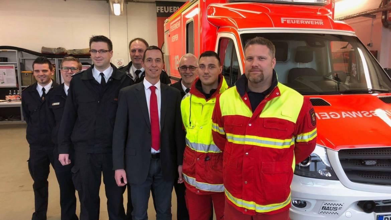 29.01.2018 – Inbetriebnahme des neuen Rettungswachenstandortes in Brüggen