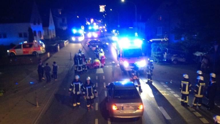 25.04.2018 – Frau bei Verkehrsunfall in Sindorf schwer verletzt