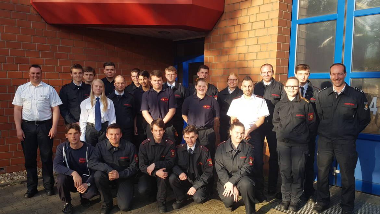 28.04.2018 – Beginn der Grundausbildung bei der Freiwilligen Feuerwehr