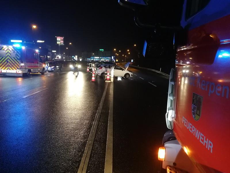 02.04.2018 – Verkehrsunfall zwischen zwei PKW in Kerpen-Sindorf