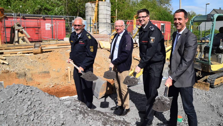 27.04.2018 – Spatenstich zum Neubau der Rettungswache Brüggen