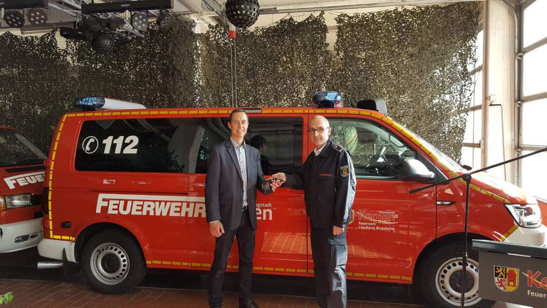02.05.2018 – Neues Mannschaftstransportfahrzeug für den Löschzug Blatzheim