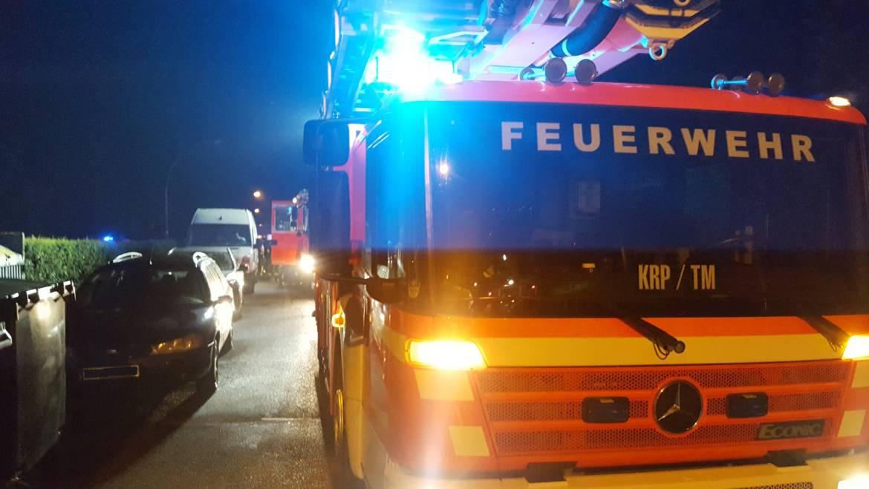 12.06.2018 – Brand im Kellergeschoss eines Mehrfamilienhauses – Treppenräume verraucht – Mehrere Personen gerettet