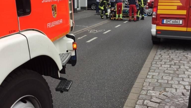 08.06.2018 – Verkehrsunfall zwischen PKW und Krad fordert eine verletzte Person