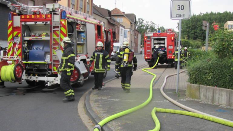 27.07.2018 – Löschzug Brüggen übt mit Nachbareinheit aus Erftstadt-Kierdorf