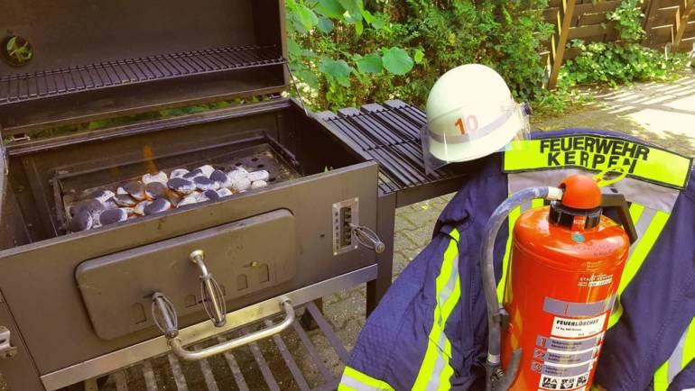 08.07.2018 – Tipps der Feuerwehr für die Grillsaison