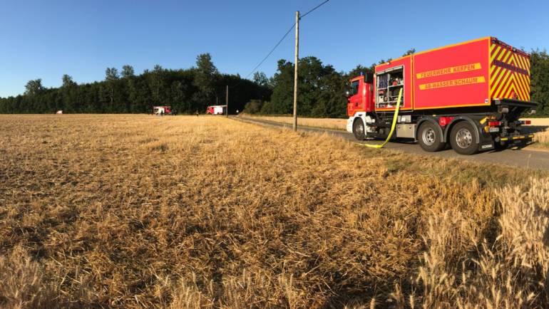 09.07.2018 – Einsatzübung Flächenbrand des Löschzuges Brüggen