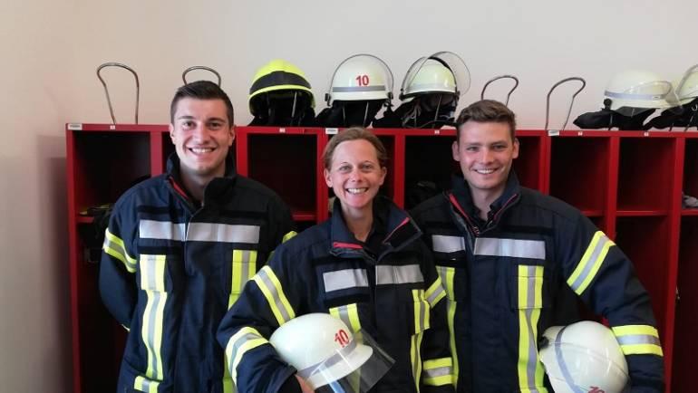 30.07.2018 – Drei neue Auszubildende bei der Feuerwehr Kerpen
