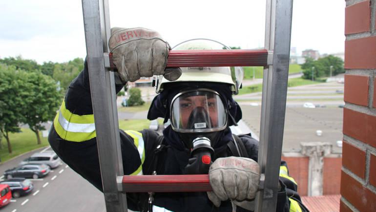05.07.2018 – Atemschutzübung unter Einsatzbedingungen absolviert