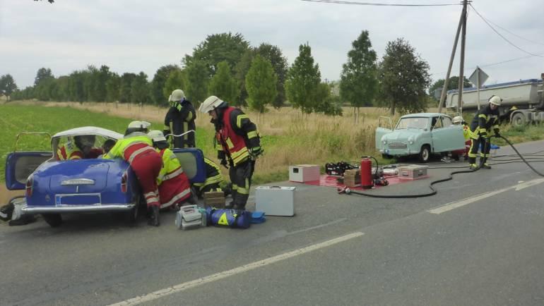 15.08.2018 – Verkehrsunfall mit drei verletzten Personen