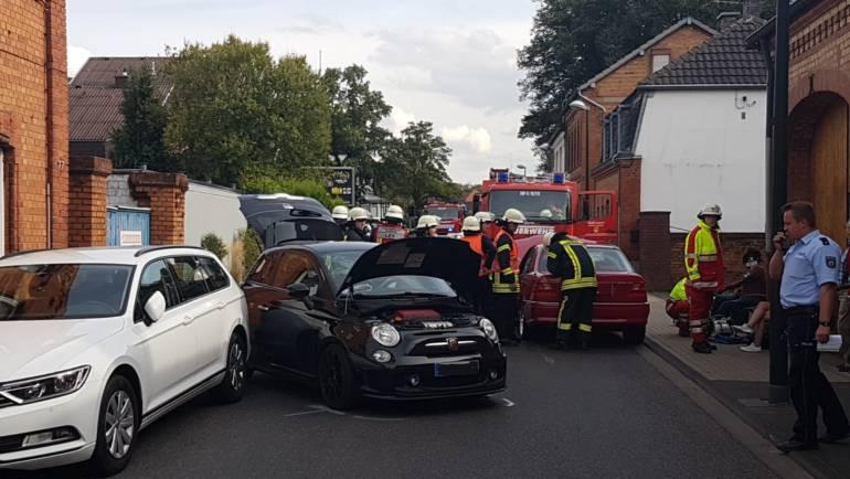 31.08.2018 – Verkehrsunfall in Türnich mit zwei verletzten Personen