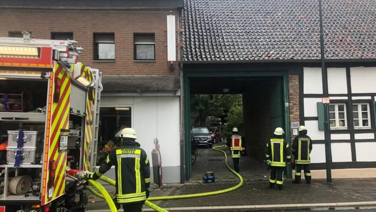 22.09.2018 – Brand in Kerpen-Blatzheim