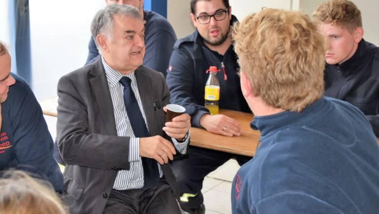 22.09.2018 – Besuch des Innenministers des Landes Nordrhein-Westfalen