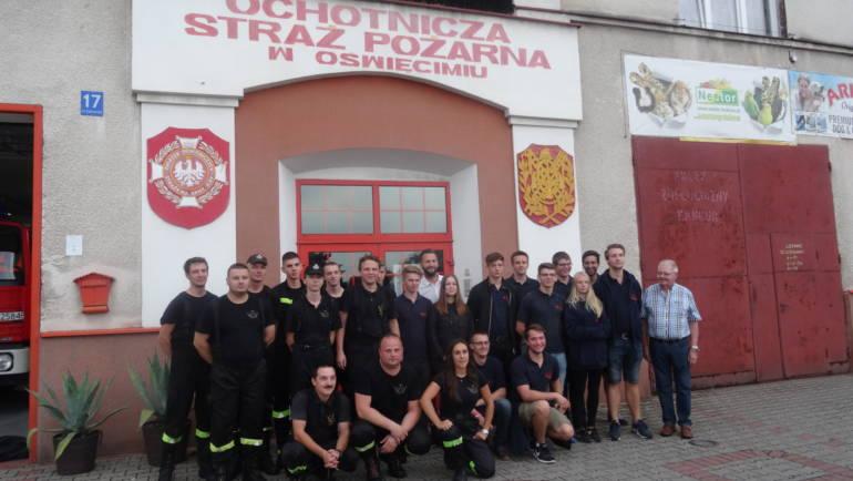 06.11.2018 – Besuch der Jugendfeuerwehr Kerpen in der Partnerstadt Oswiecim