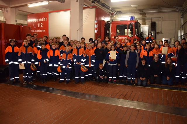 09.11.2018 – Nachtwanderung der Jugendfeuerwehren der Feuerwehr Kerpen